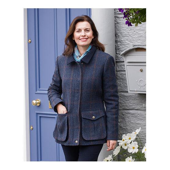 Hoggs of Fife Wycombe Ladies Shetland Wool Field Coat