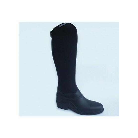 Gallop Everest neoprene long riding boot - Black