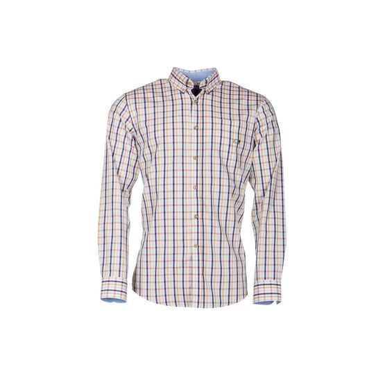 Baleno Anderson Long Sleeve Green Check Shirt