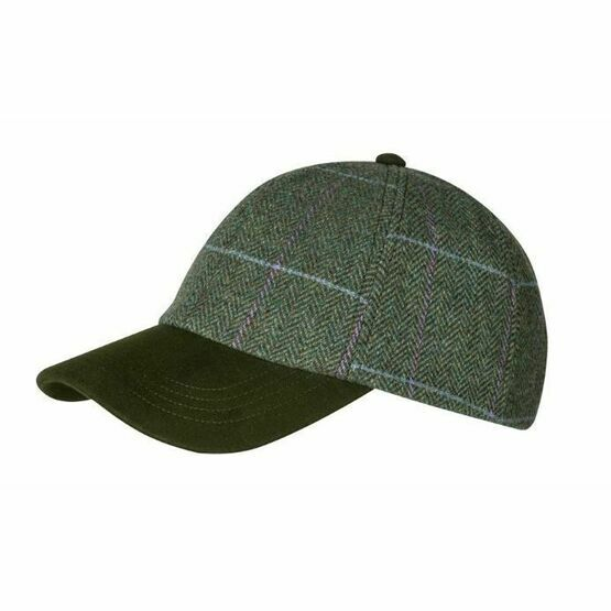 Hoggs Albany Ladies Baseball Cap Lambswool