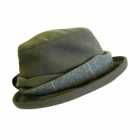 Hoggs Albany Ladies Waterproof Hat With Lambswool/Tweed Twist