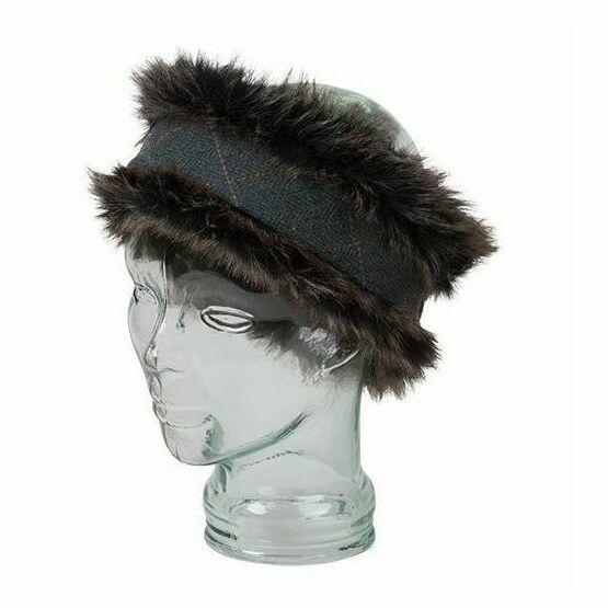 Hoggs Sherborne Faux Fur/Lambswool Headband
