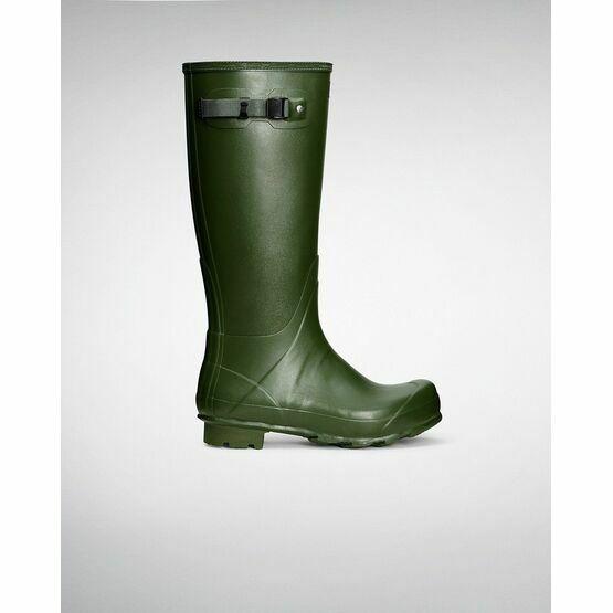 Hunter Norris Vintage Field Boot - Green