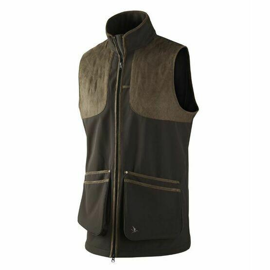 Seeland Winster Softshell Black Waistcoat