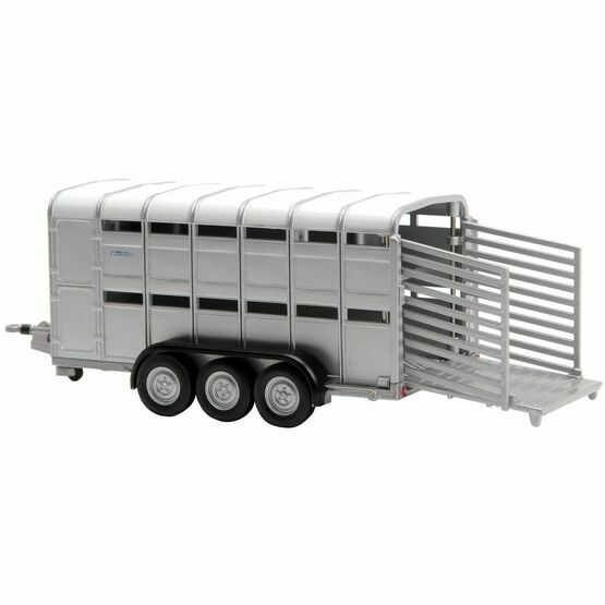 Britains Ifor Williams Livestock Trailer Tri Axle