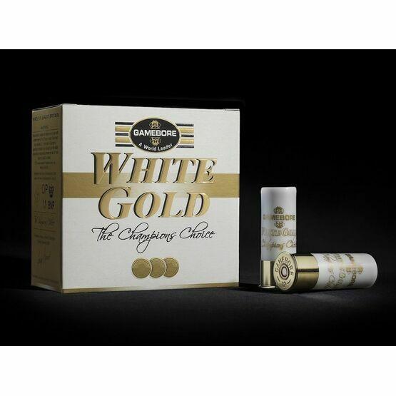 Gamebore White Gold Original 7.5 28G Plastic Complete Shotgun Cartridges 12g