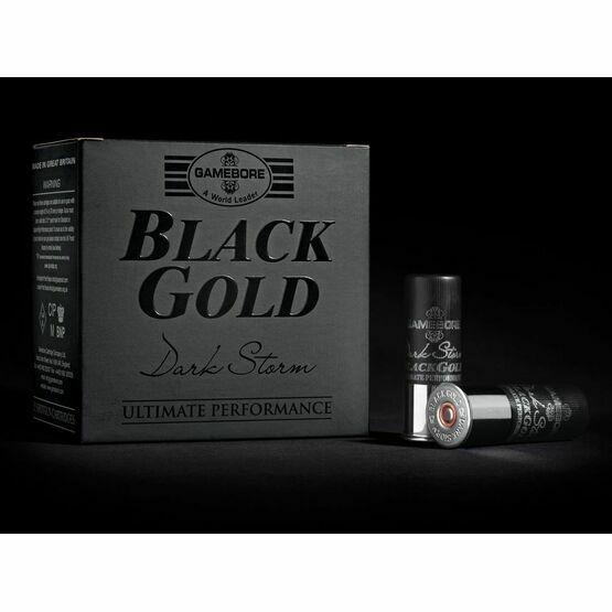 Gamebore BG 4/36 FBR Dark Storm Black Gold Shotgun Cartridges 12g
