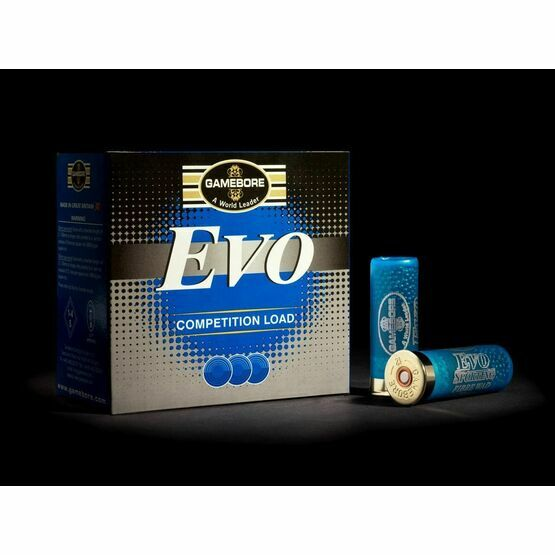 Gamebore Evo Sporting 8/21G Fibre Competition Shotgun Cartridges 12g