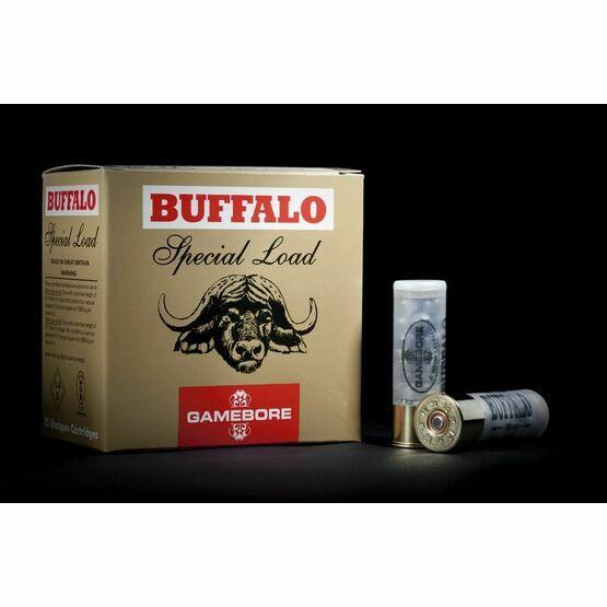 Gamebore Buffalo BB 36G Plastic Per 25 Shotgun Cartridges 12g