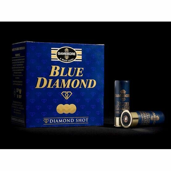 Gamebore Blue Diamond 8/28 Fibre Per 25 Complete Shotgun Cartridges 12g