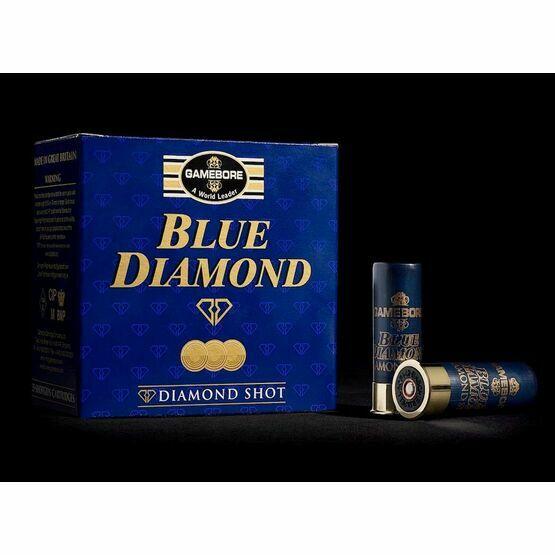 Gamebore Blue Diamond 8/28 Plastic Per 25 Complete Shotgun Cartridges 12g
