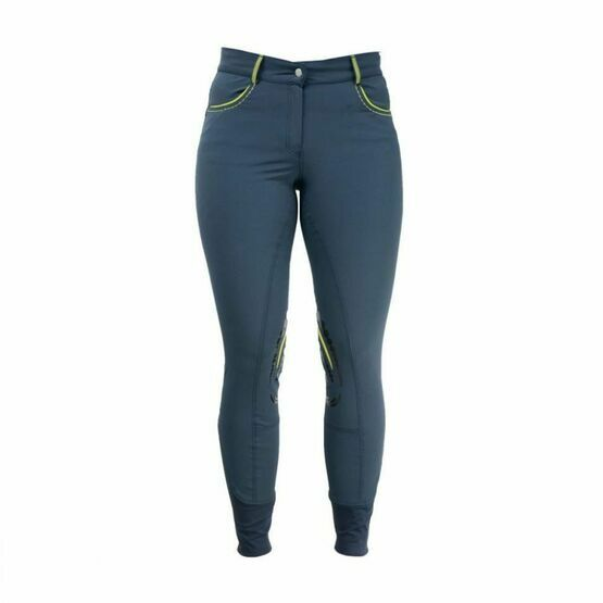 Hyfashion Women\'s Horse Riding Breeches Sportswear - Blue and Green