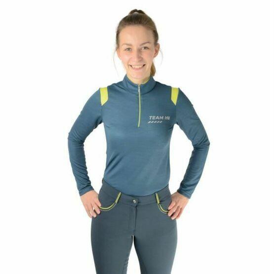 HyFashion 80 Sports Shirt Blueberry/Lime Green