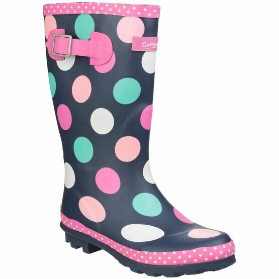 Cotswold Dotty Junior Pull On Wellington Boots