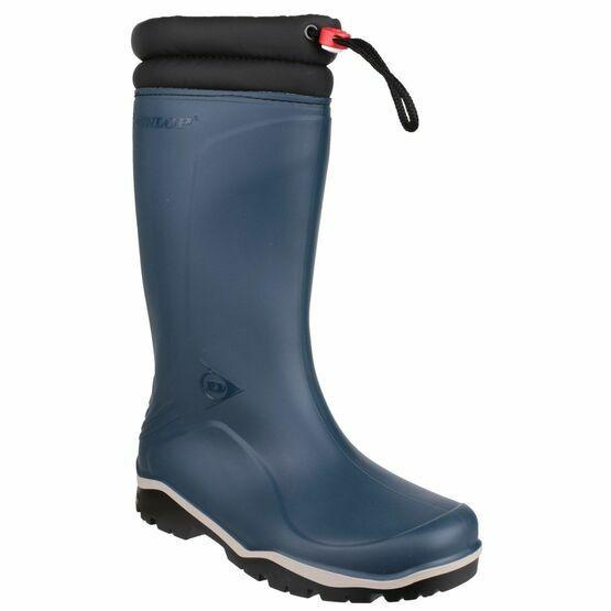 Dunlop Blizzard Wellington Boots (Blue)