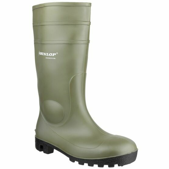 Dunlop Protomastor Wellington Boots (Green)