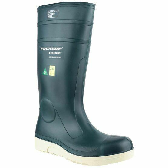 Dunlop Purofort Comfort Grip Full Safety Wellington Boots