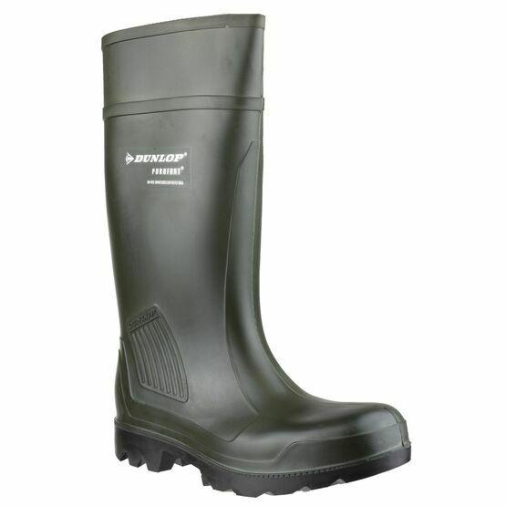 Dunlop Purofort Professional Wellington Boots (Green)