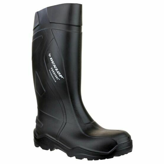 Dunlop Purofort+ Full Safety Black Wellington Boots