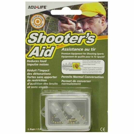 Shooter's Aid Sonic Ear Plugs