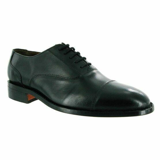 Amblers James Leather Soled Shoes (Black)