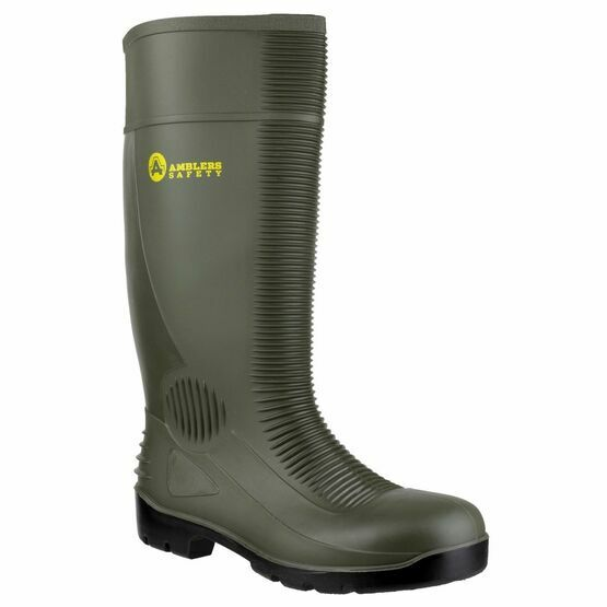 Amblers Safety FS99 Safety Wellington Boots (Green)