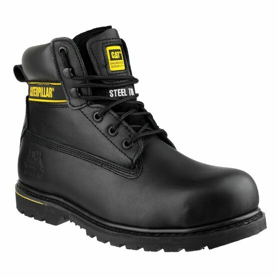 Caterpillar Holton Safety Boots (Black)