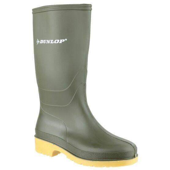Dunlop Dull Wellington Boots (Green)