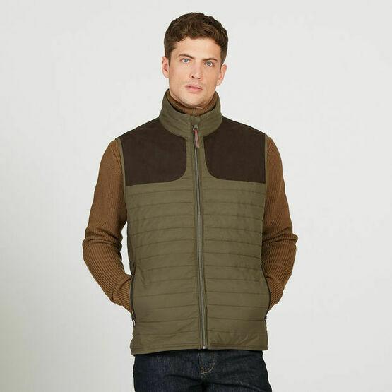 Aigle Crochy Sleeveless Gilet Vest Bodywarmer - Brown