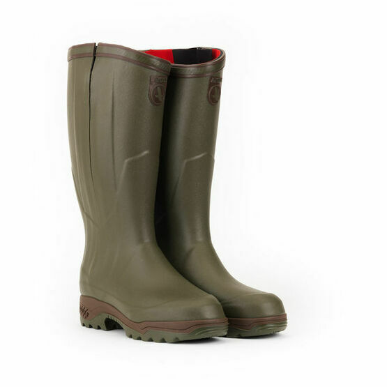 Aigle ISO Open Kaki Wellington Boot