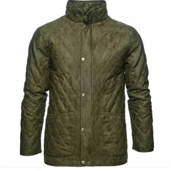 Seeland Woodcock Men\'s Quilted Jacket - Olive Green