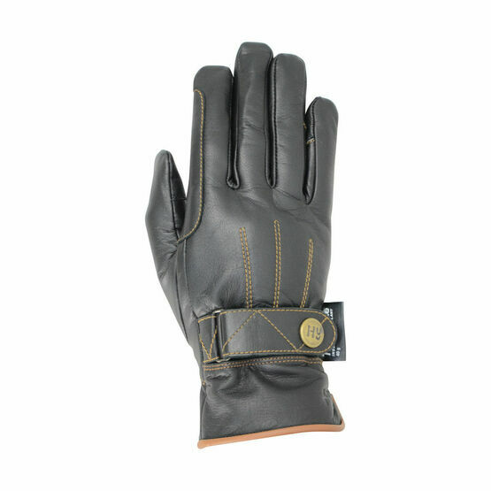Hy5 Thinsulate Leather Winter Riding Gloves
