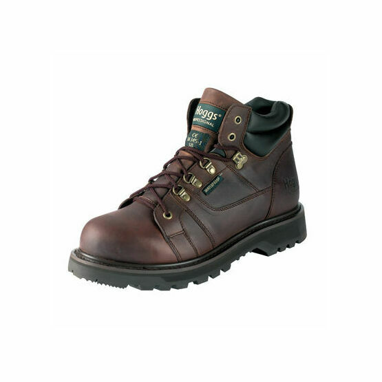 Hoggs of Fife GT3000 Waterproof Non-Safety Leather Work Boot - Oiled Brown