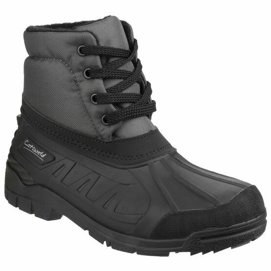 Cotswold Leoni Lace Up Canadian Boots (Grey)