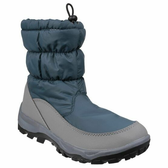 Cotswold Ladies Polar Toggle Fastening Fleece Lined Snow Boot Brown