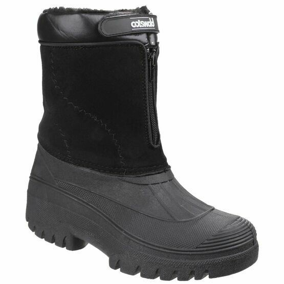 Cotswold Venture Waterproof Winter Boots (Black)