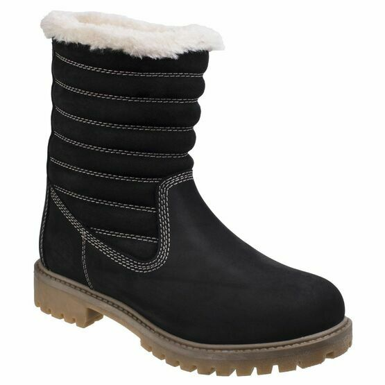 Darkwood Yew Casual Boots - Black