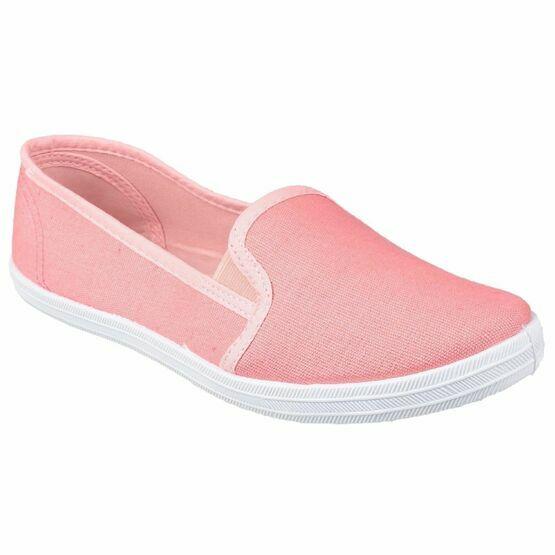 Garland Slip On Summer Pump in Pink