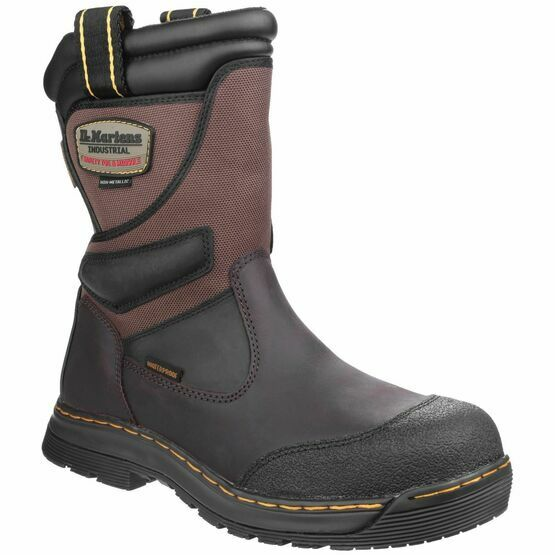 2ac02395927 Dr Martens Turbine Brown Safety Rigger Boots