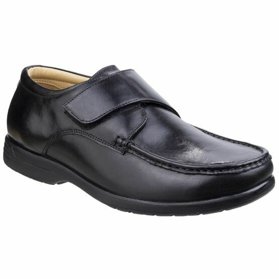 Fred Dual Fit Moccasin in Black