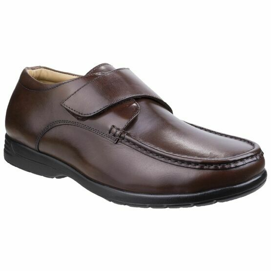 Fred Dual Fit Moccasin in Brown