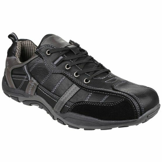 Portsmouth Casual Shoe in Black