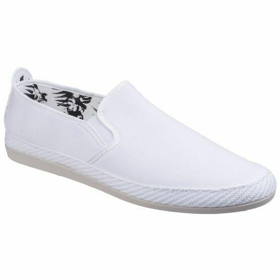 Orla Slip On Espadrille in White