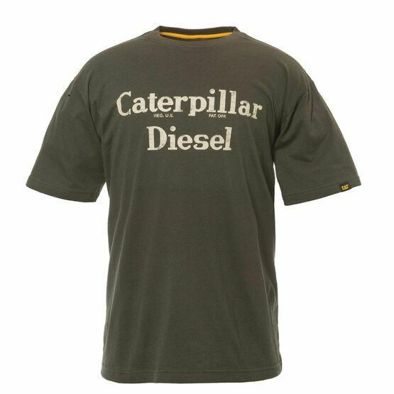 Caterpillar Diesel T-Shirt - Moss Green
