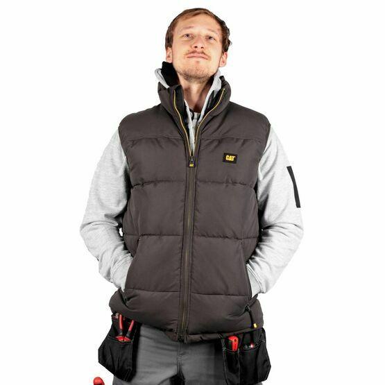 Caterpillar Arctic Zone Vest in Black