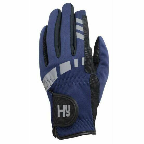 Hy5 Extreme Reflective Softshell Gloves (Navy)