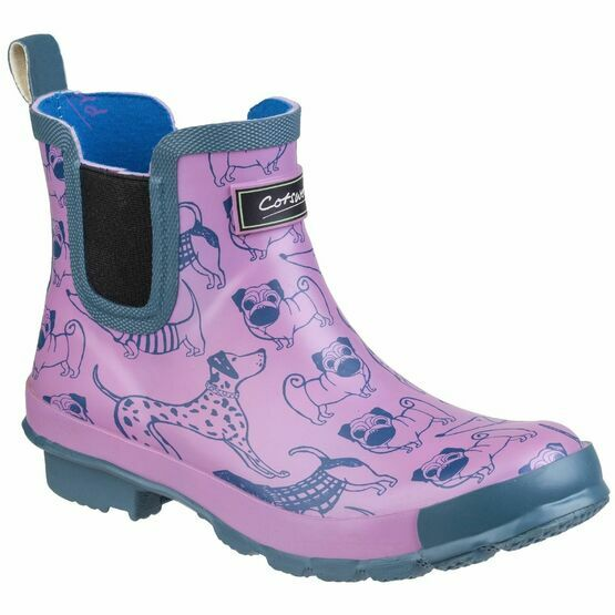 Cotswold Bownham Short Wellington Boot in Dog