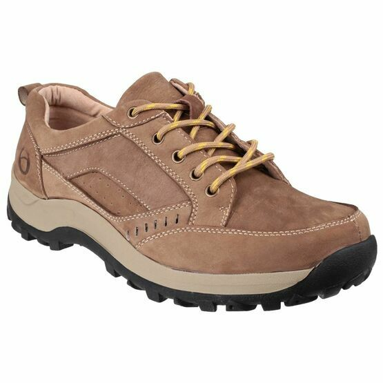 Cotswold Nailsworth Lace Up Shoe in Tan