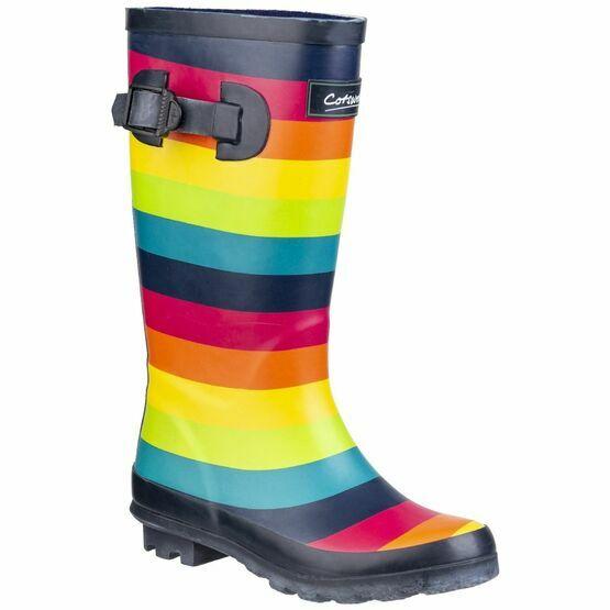 Cotswold Rainbow Junior Wellington Boot in Multicoloured