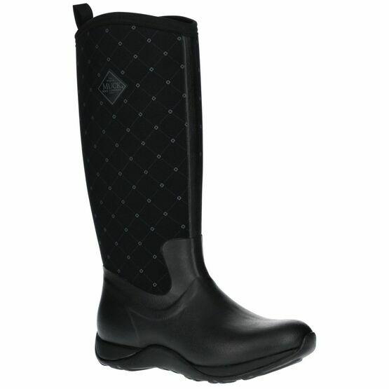 Muck Boots Arctic Adventure Women\'s Wellington Boots in Black Quilt